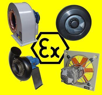 Ventilatoare AntiEx - Rezistente la foc, Desfumare