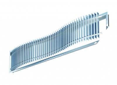 Difuzor tip grila lineara de pardoseala LBDF