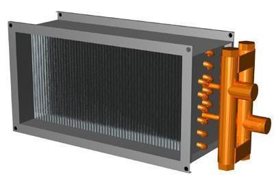 Baterii incalzire apa rectangulare VO REMAK