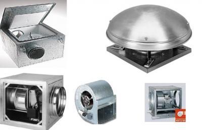 Ventilatoare Centrifugale de tubulatura