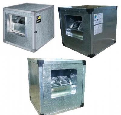 Ventilatoare Box centrifugale-axiale