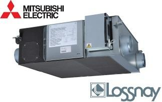 Recuperator de caldura Mitsubishi Electric LGH-25RVX-E -