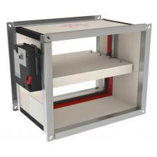Clapeta antifoc rectangulara CU2+CFTH -