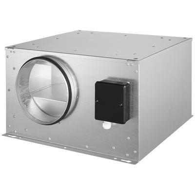 Ventilator de tubulatura izolat fonic, controlabil prin tensiune