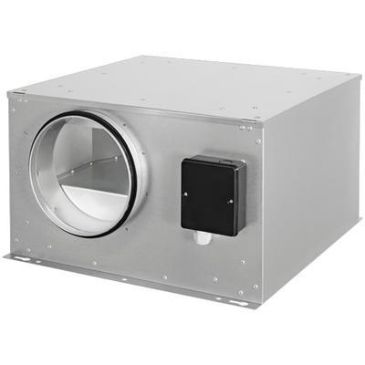 Ventilator de tubulatura izolat fonic, cu motor EC