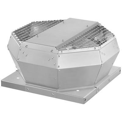 Ventilator de acoperis, controlabil prin tensiune