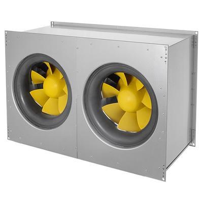 Ventilator de canal optimizat fonic, cu ventilator diagonal ETAMASTER, motor EC