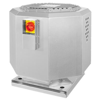 Ventilator de acoperis pana la 120°C, izolat fonic DVNI