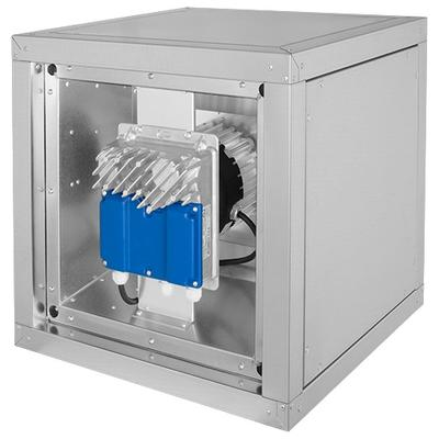 Ventilator de extractie izolat, pana la 80°C, motor EC în afara curentului de aer