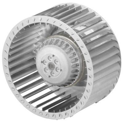 Ventilator centrifugal cu palete curbate inainte, cu motor AC