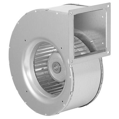 Ventilator cu palete curbate inainte in carcasa cu o singura admisie, cu motor EC
