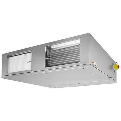 Unitate compacta plata de tratare aer pentru montaj in tavan cu 30 mm izolatie