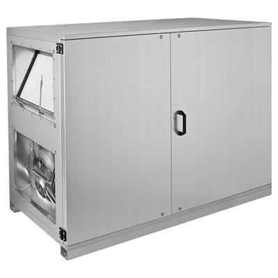 Unitate compacta de tratare aer pentru montaj la interior sau exterior cu 50 mm izolatie, racorduri orizontale