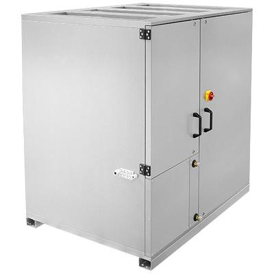 Unitate compacta de tratare aer pentru montaj la interior cu 40 mm izolatie, racorduri verticale