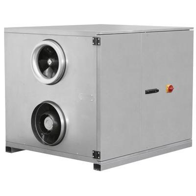 Unitati compacte de tratare aer cu motoare EC sau AC pentru instalare la interior sau exterior. Seria va fi inlocuita de ROTO K...H!