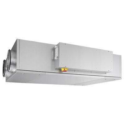 Unitate compacta plata de tratare aer cu 30 mm izolatie si recuperare de caldura de cea mai inalta eficienta