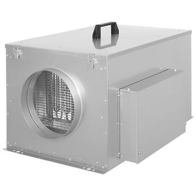 Unitate compacta plata de introducere aer cu filtru, incalzire electrica si automatizare integrata