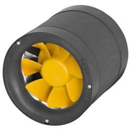 Ventilator de tubulatura ETAMASTER cu motor AC EM 125 E2 01